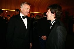 Max Mosley and Fernando Alonso