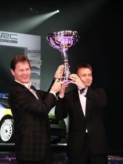 FIA World Rally Championship: Malcolm Wilson and Jost Capito, Ford