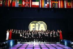 FIA Trophy Winners, group picture