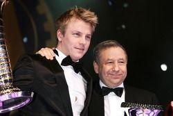 FIA Formula One World Championship: Jean Todt and Kimi Raikkonen, Ferrari