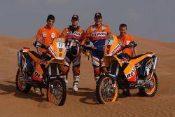 KTM: Jordi Viladoms y Marc Coma