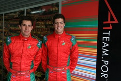 Goncalo Arauyo, driver of A1 Team Portugal and Joao Urbano, driver of A1 Team Portugal