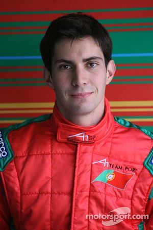 Goncalo Arauyo, driver of A1 Team Portugal