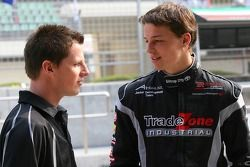 Jonny Reid, driver of A1 Team New Zealand and Earl Bamber, driver of A1 Team New Zealand