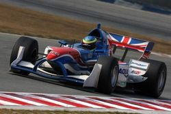 Oliver Jarvis, driver of A1 Team Great Britain