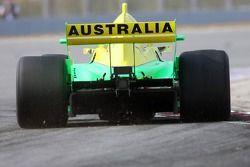 Ian Dyk, driver of A1 Team Australia