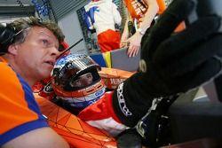 Jeroen Bleekemolen, pilote A1 Equipe des Pays-Bas et Jan Lammers, titulaire du siège A1 Equipe des P