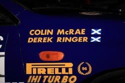 Colin McRae's Subaru WRC