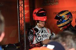 Michael Schumacher y Sébastien Bourdais