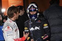 Jenson Button et David Coulthard