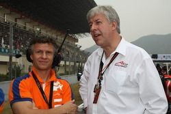 Jan Lammers, Seat HoldersA1 Team Netherlands with David Clare