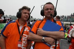 Jan Lammers, Seat HoldersA1 Team Netherlands and Dave Stubbs