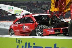 Semifinal 2: Andy Priaulx dañó el coche Solution F