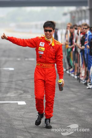 Congfu Cheng, driver of A1 team China