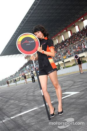 Grid girl, A1 team China