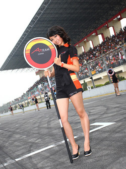 Grid girl, A1 team China