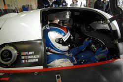 Dino Lunardi in the Peugeot 908 Hdi FAP