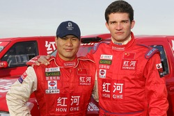 Team Dessoude presentation in Le Galicet: Xu Lang and Fabian Lurquin