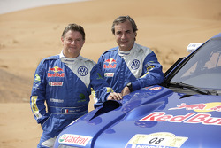 Volkswagen: Michel PÈrin and Carlos Sainz