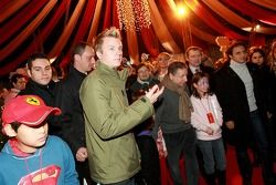 Ferrari Christmas for Kids party: Kimi Raikkonen and Jean Todt