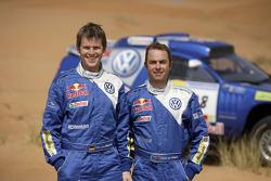 Volkswagen: Giniel de Villiers and Dirk von Zitzewitz