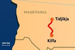 Stage 12: 2008-01-17, Tidjikja to Kiffa