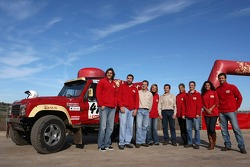 Team Sical Challenge: Rodrigo Amaral and Duarte Amaral with their team