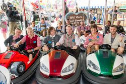 Athletes attend the BMW Wiesn Sport-Stammtisch 2015 at Oktoberfest