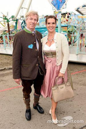 Leopold Prinz von Bayern, dan Katarina Witt