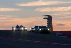 Akşam karanlığında yarış heyecanı