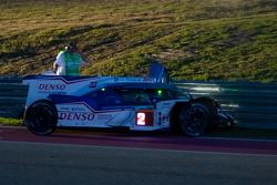 # 2 Toyota Racing Toyota TS040 Hybrid: Alexander Wurz, Stéphane Sarrazin, Mike Conway se estrella