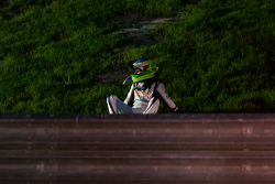 Mike Conway, Toyota Racing after crashing