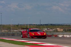 #62 Risi Competizione Ferrari F458: Pierre Kaffer, Giancarlo Fisichella