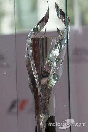 Trofeo para el ganador del primer lugar del GP de México