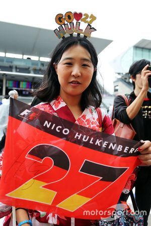 Un fan de Nico Hulkenberg, Sahara Force India F1