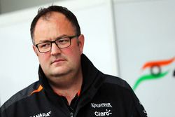 Tom McCullough, Sahara Force India F1 Jefe del equipo del ingeniero