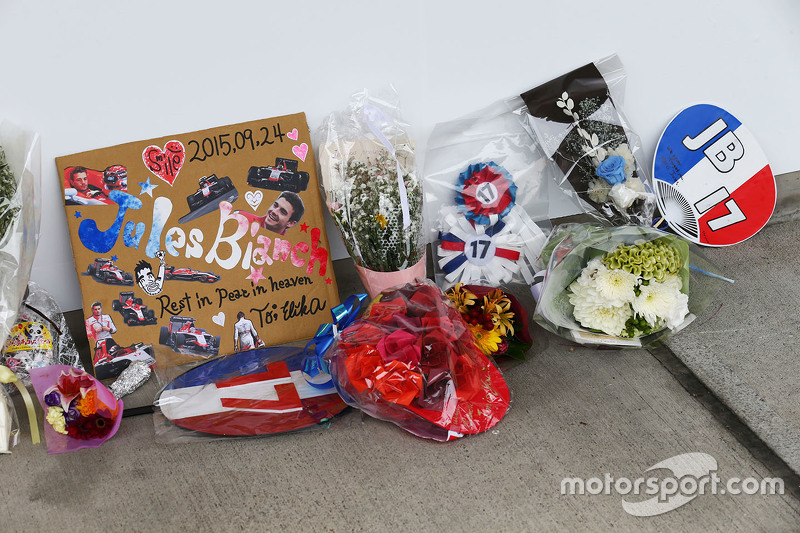 Homenajes a Jules Bianchi