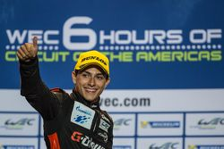 Podio LMP2: il terzo classificato Pipo Derani, G-Drive Racing