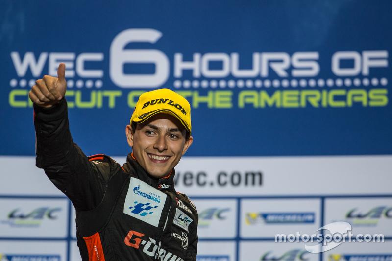 LMP2 podium: third place Pipo Derani, G-Drive Racing