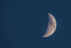The moon over COTA