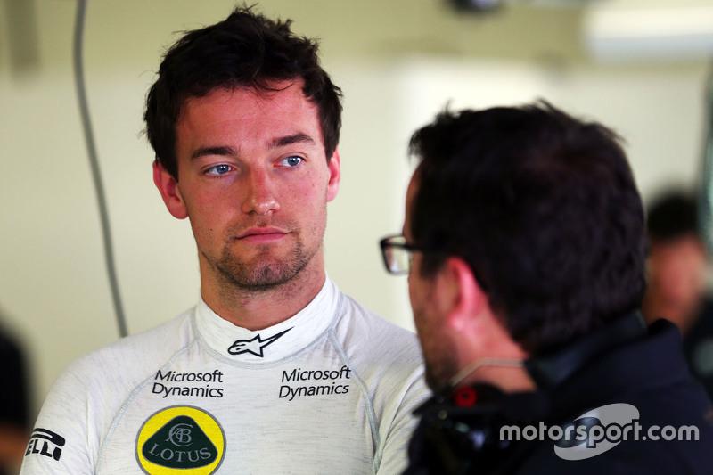 Jolyon Palmer, Lotus F1 Team, Test- und Ersatzfahrer, mit Julien Simon-Chautemps, Lotus F1 Team, Ren