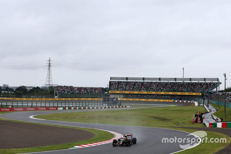 Pastor Maldonado, Lotus F1, E23