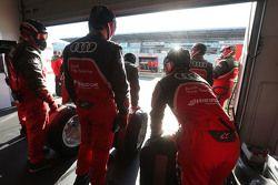 Mecánicos de Audi Sport