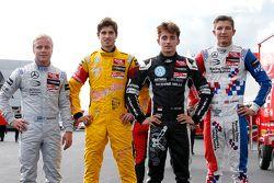 Felix Rosenqvist, Prema Powerteam Dallara F312 - Mercedes-Benz, Antonio Giovinazzi, Jagonya Ayam