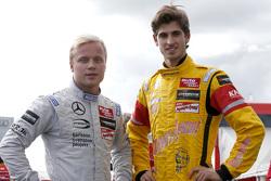 Felix Rosenqvist, Prema Powerteam Dallara F312 - Mercedes-Benz, Antonio Giovinazzi, Jagonya Ayam wit