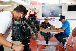 Marc Marquez, Repsol Honda Team, et Dennis Noyes