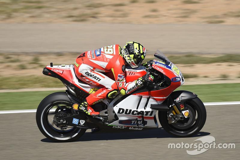 Aragón 2015 - Andrea Iannone (Ducati)