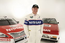Jim Richards with the Nissan Skyline, Nissan Motorsports