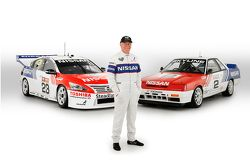 Jim Richards with the special retro livery for Michael Caruso and Dean Fiore, Nissan Motorsports