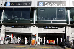 Tom Blomqvist, BMW Team RBM BMW M4 DTM and Augusto Farfus, BMW Team RBM BMW M4 DTM